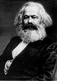 Karl Marx dengan faham Sosialisme menyatakan Konsep Alienasi era kapitalisme pasca Revolusi Industri